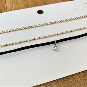 H&M | NWT Gold Chokers (Set of 3)